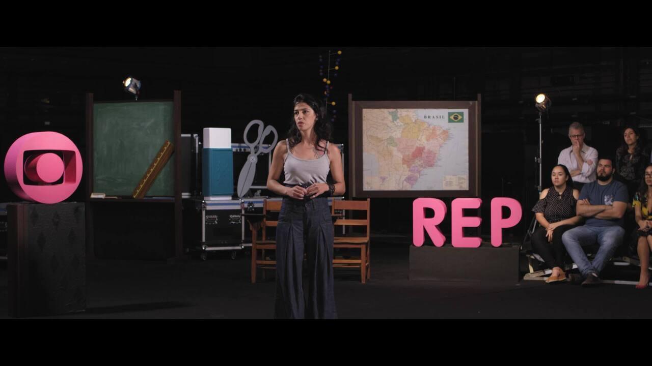 REP - Histórias de Classe: Renata Leitão trabalha no complemento ao ensino da escola forma