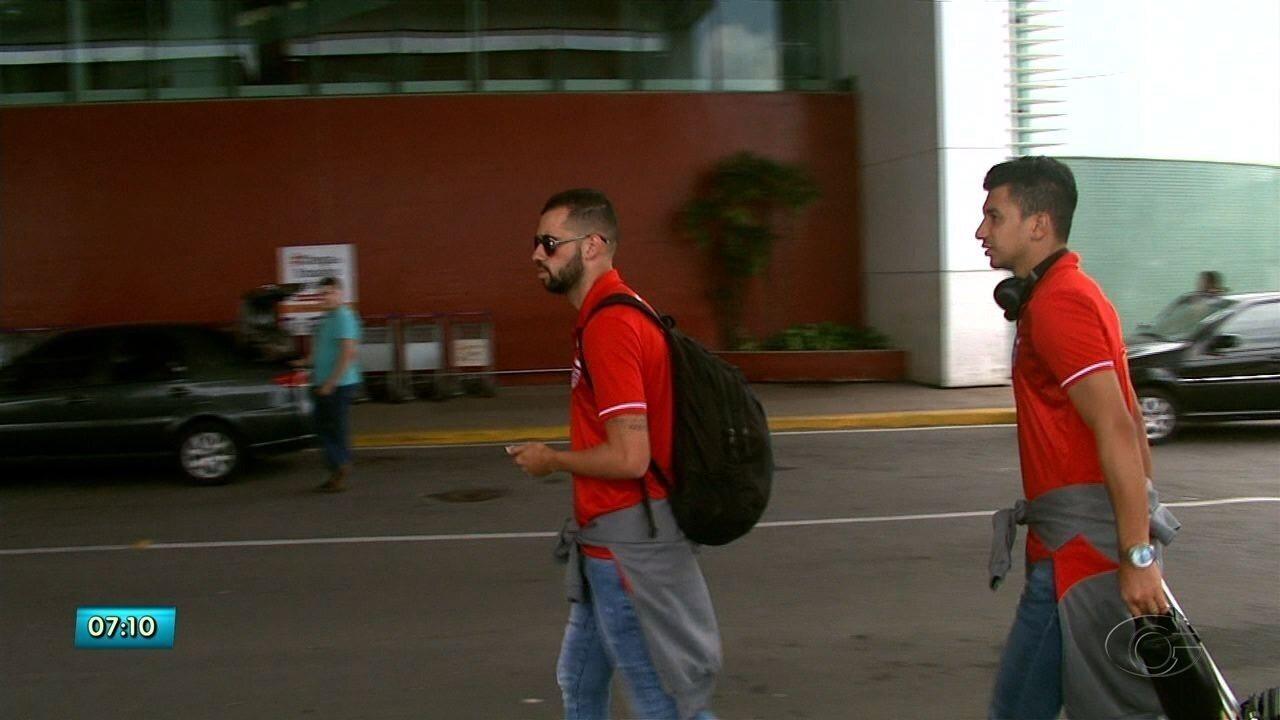 CRB chega a Maceió após empate fora de casa