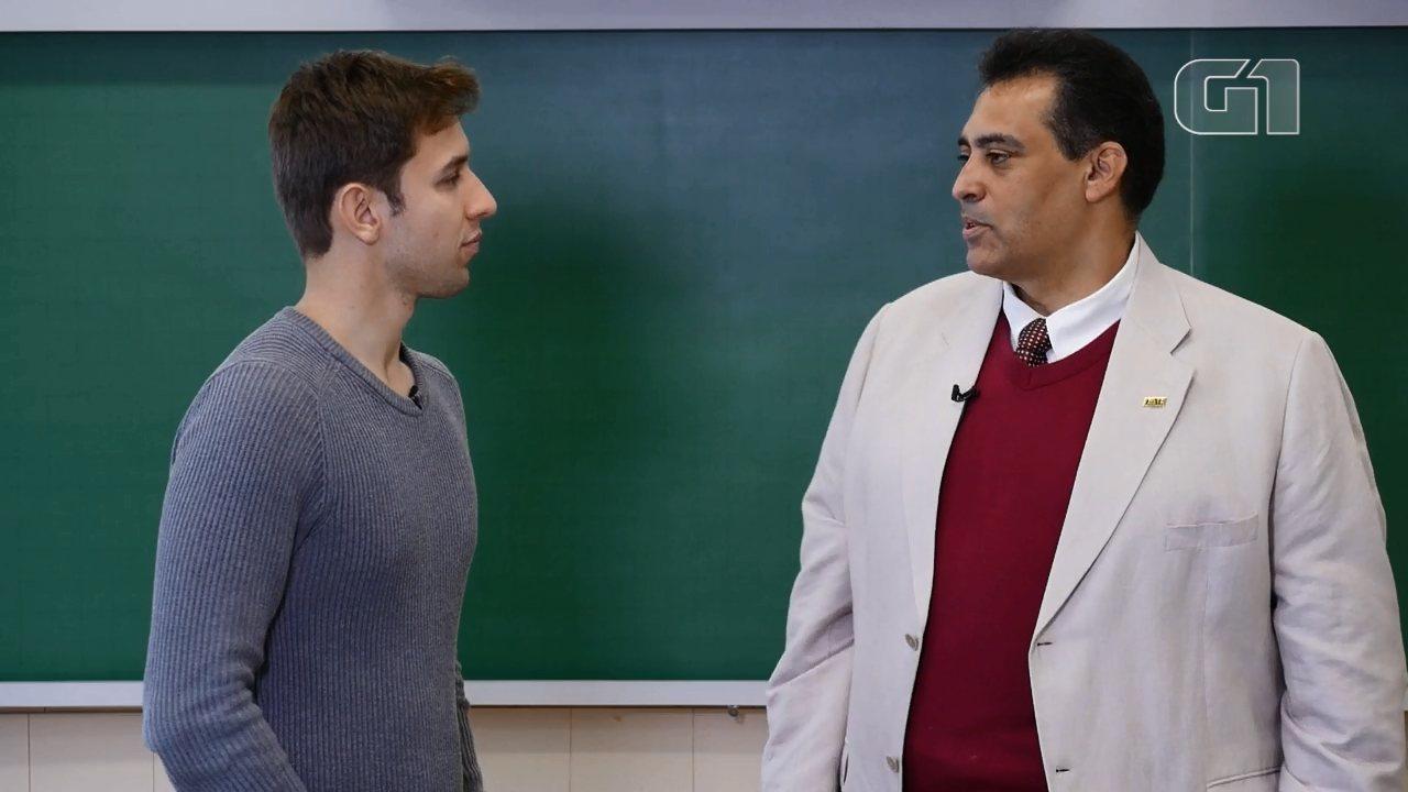 Professor dá dicas de como administrar bem o tempo com a proximidade do vestibular