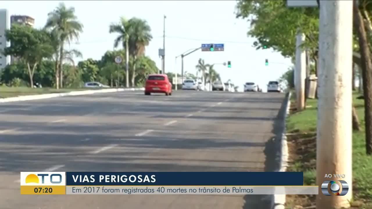 Número de acidentes ocorrendo mortes é grande na Avenida Teotônio Segurado