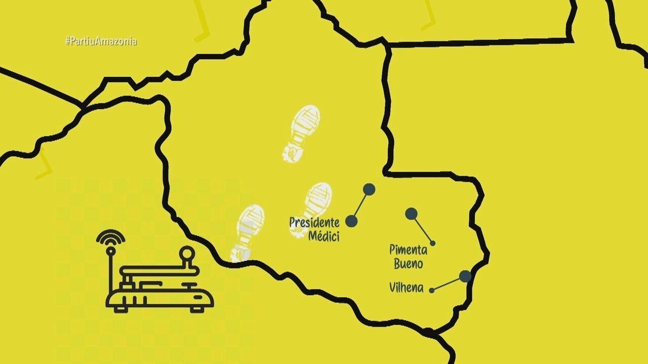 Parte 2: Estrada Madeira Mamoré é o caminho para Santo Antônio