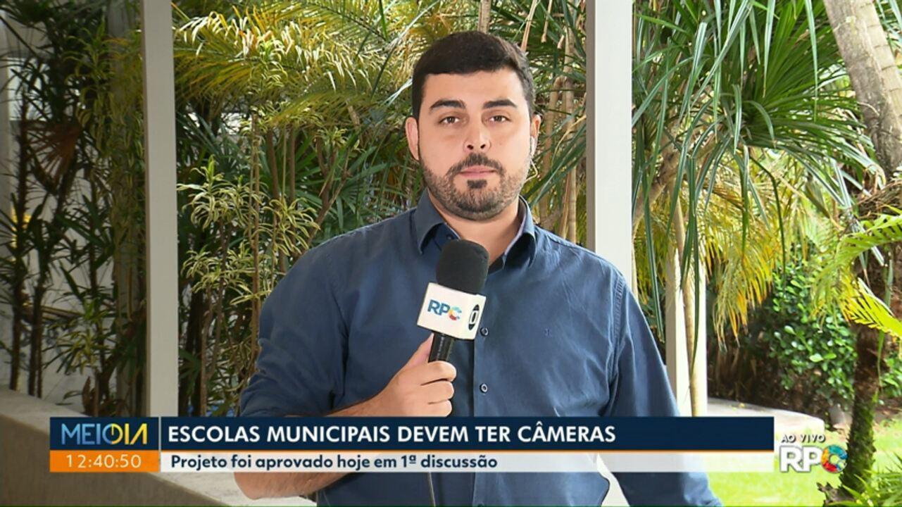 Vereadores aprovam projeto para instalação de câmeras de segurança