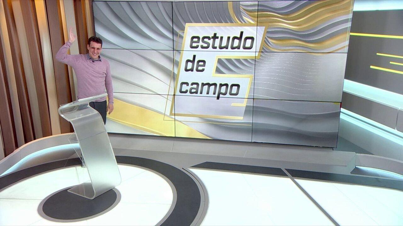 Samy Dana analisa a posse de bola dos times brasileiros no Estudo de Campo