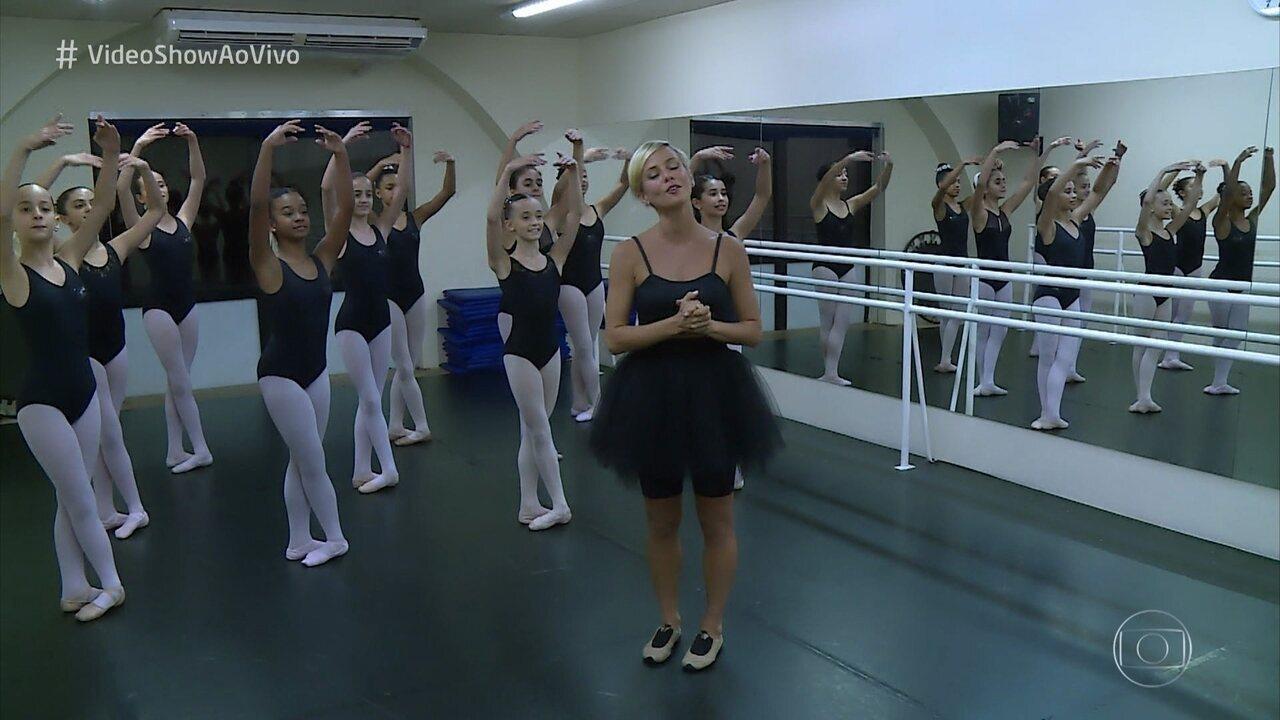 Fernanda de Freitas revela que era professora de balé antes da fama