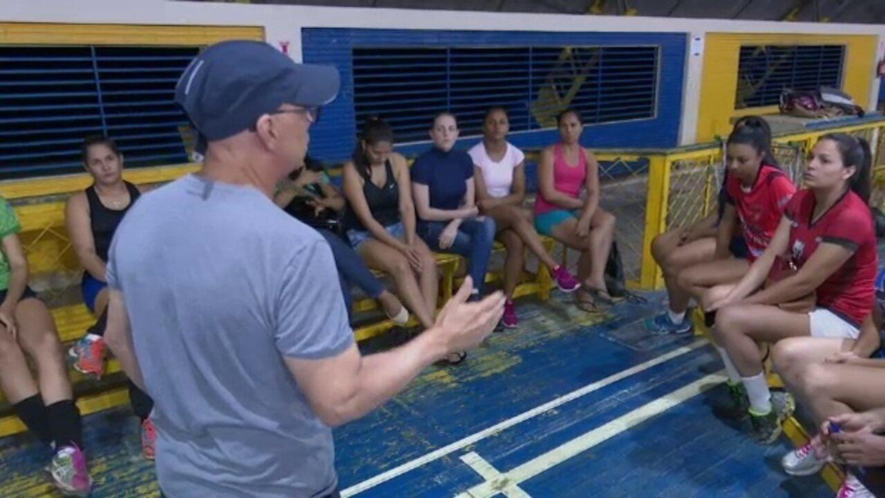 Seleção acreana inicia treinos para disputa da Copa Amazônia Sustentável de Vôlei