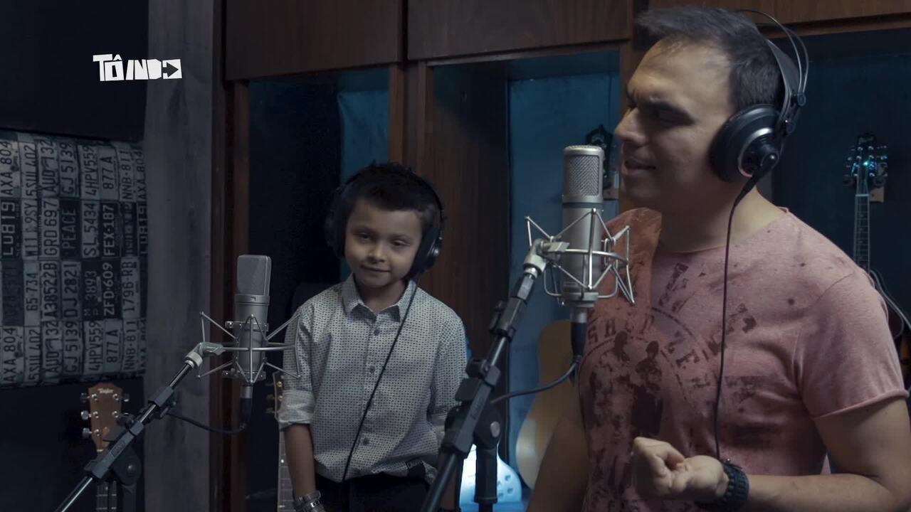 Cantor Dylan e Mário lançam clipe no 'Tô Indo'