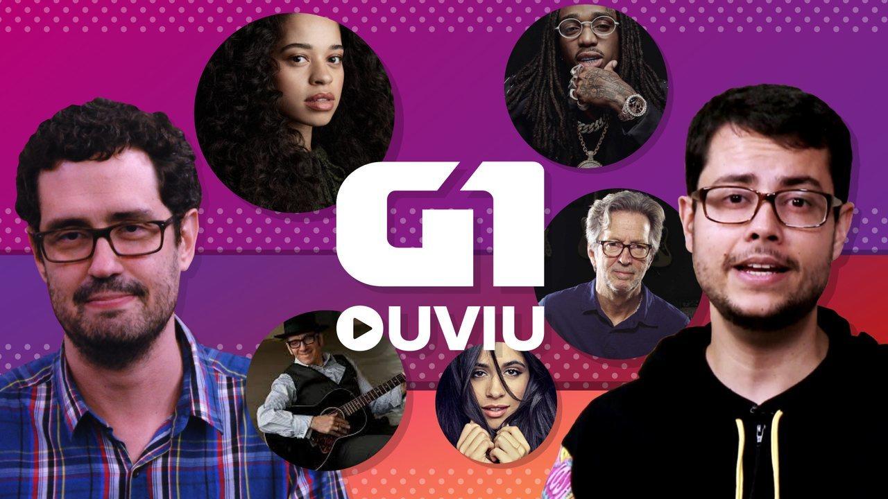 Eric Clapton, Elvis Costello e duas estreias de cantoras deixam G1 Ouviu entre rock e pop