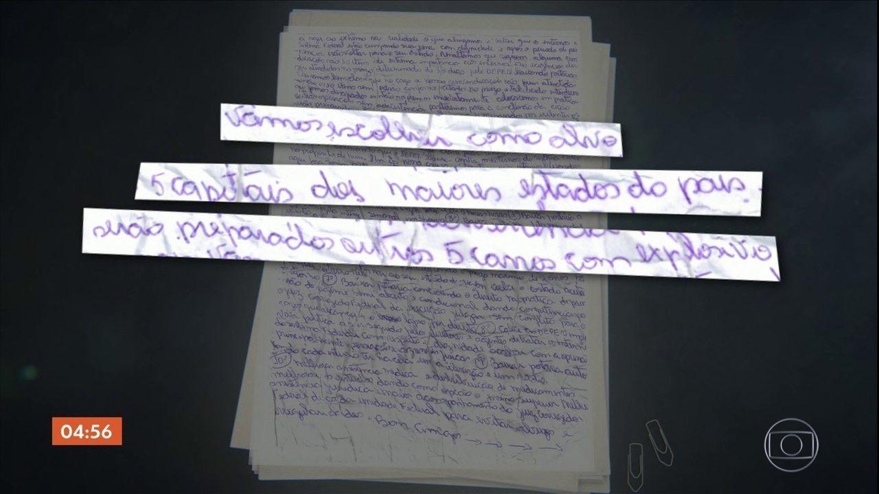 PF descobre plano de integrantes de facção criminosa presos em Porto Velho