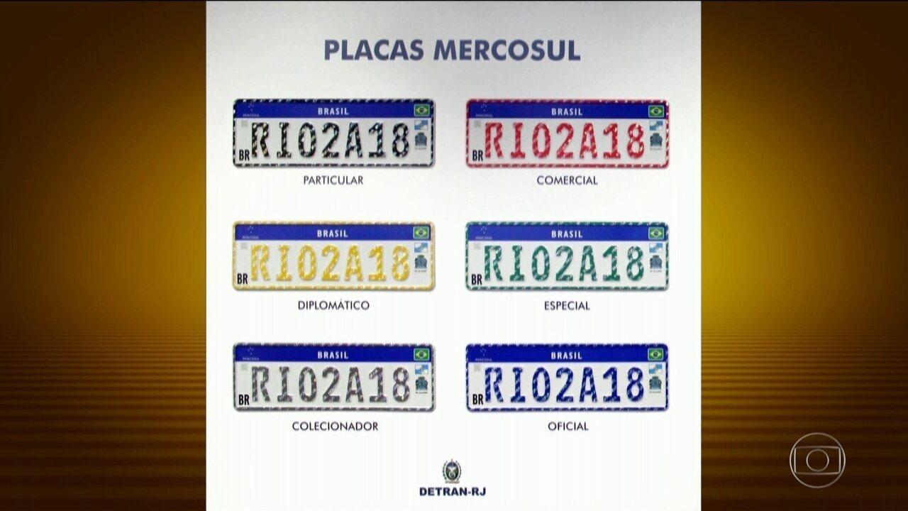 Justiça suspende colocação das novas placas do Mercosul nos carros no Brasil cdf97f5fc9475