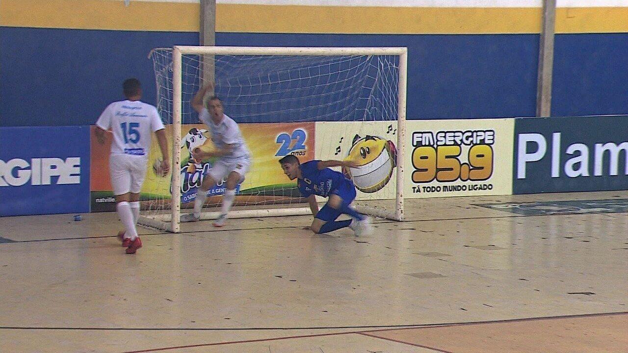 Itaporanga e Ribeirópolis empatam por 2 a 2 pelas quartas de final da Copa TVSE de Futsal