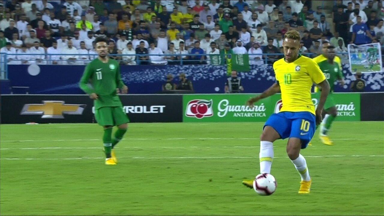 Melhores momentos: Brasil 2 x 0 Arábia Saudita em amistoso da Seleção Brasileira