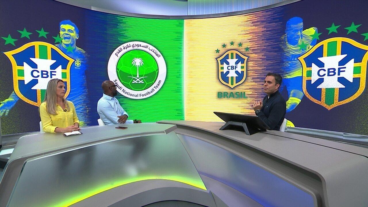 Comentaristas analisam vitória do Brasil sobre Arábia Saudita
