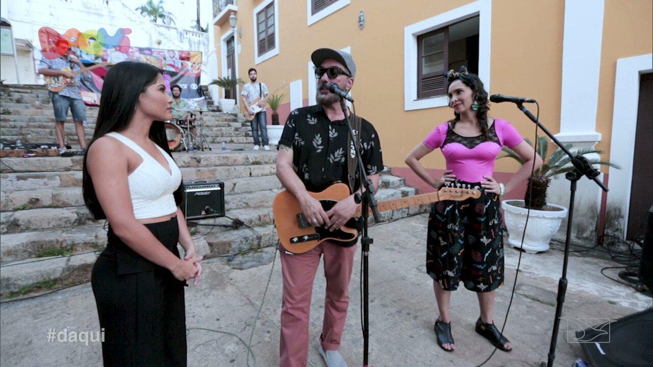 Criolina participa da festa de 1 ano do Daqui