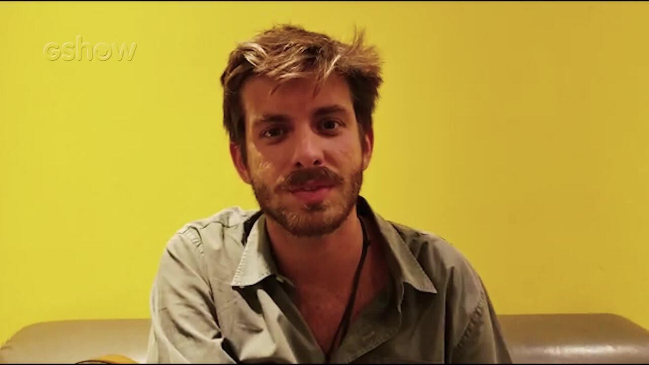 Entrevista com Tiago Nacarato nos bastidores do Altas Horas