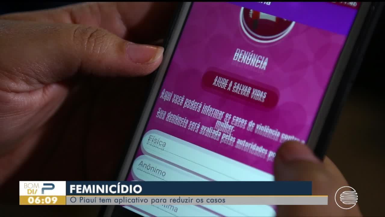 Piauí tem aplicativo para reduzir número de casos de feminicídio