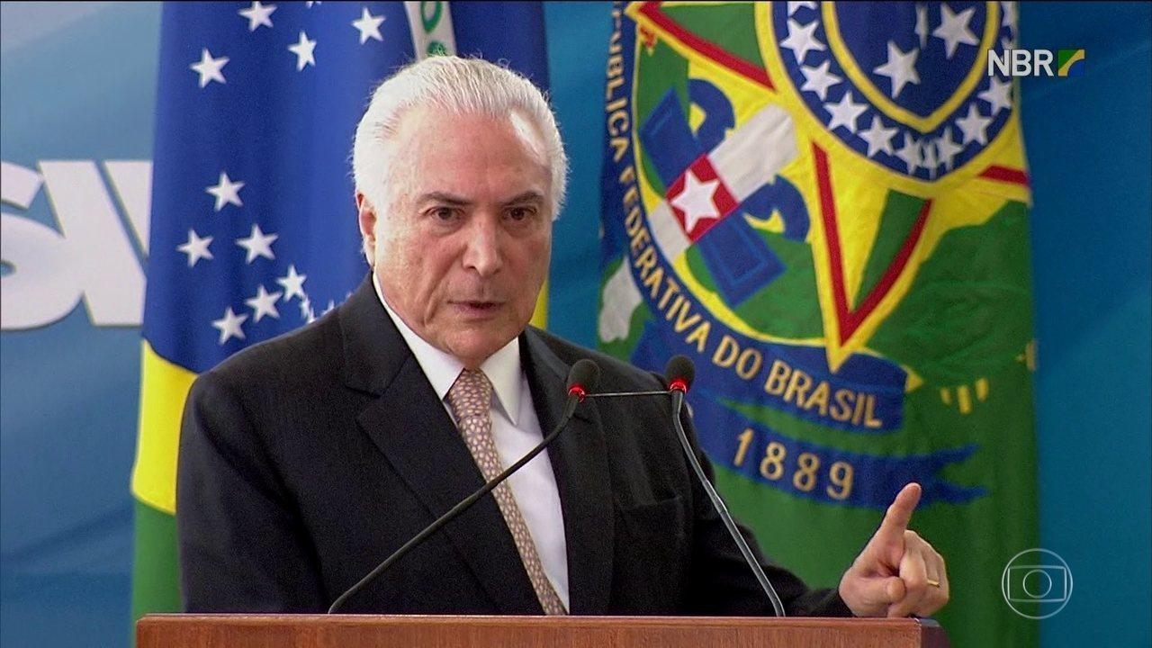 PF vê indícios de que Temer participa de esquema de propina no Porto de Santos