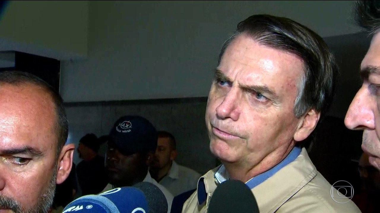 Candidato do PSL, Jair Bolsonaro, visita sede da PF e arcebispo do Rio