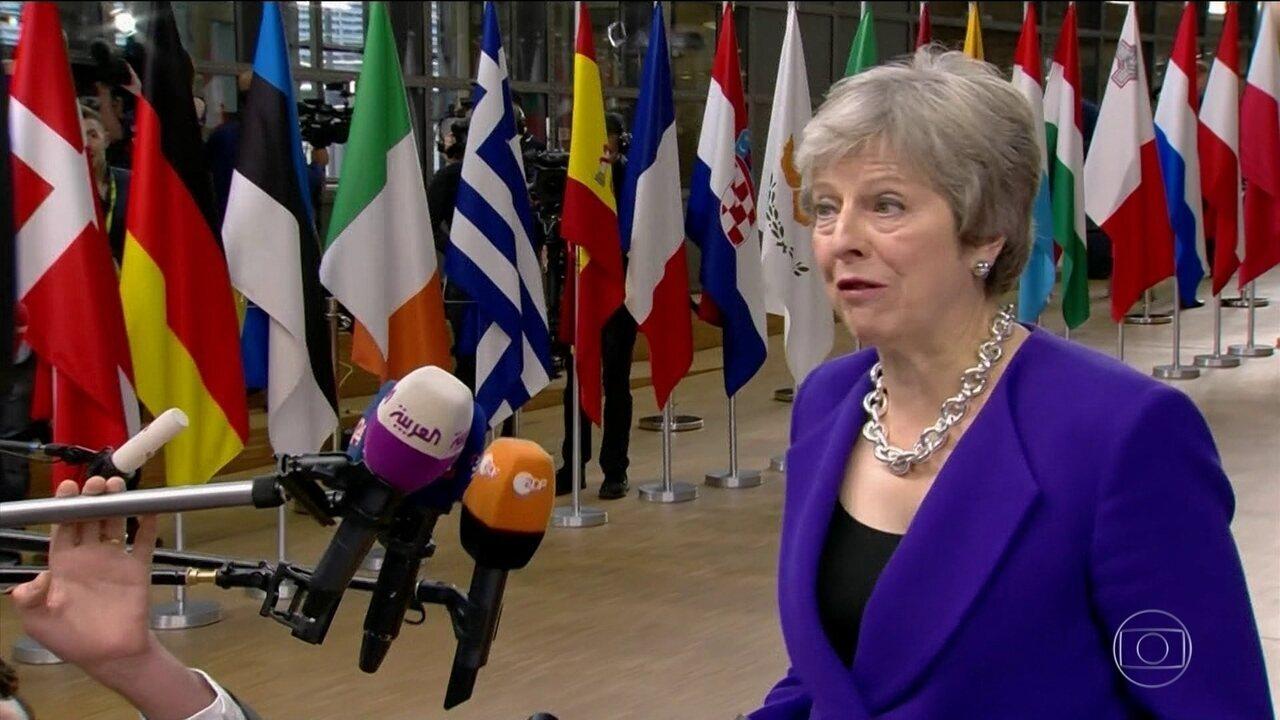 Reino Unido quer estender prazo para sair da União Europeia