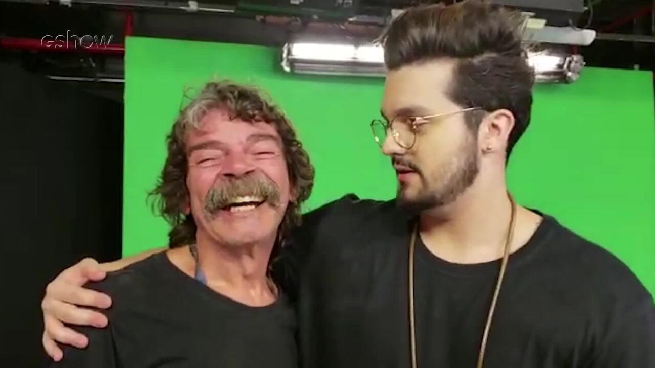 Madruga conversa com Luan Santana sobre a música '2050'