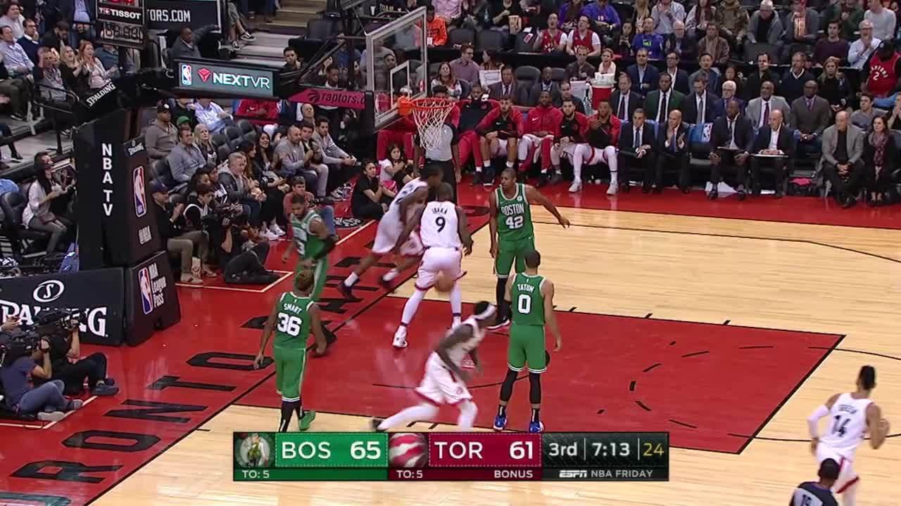 Melhores momentos: Boston Celtics 101 x 113 Toronto Raptors pela NBA