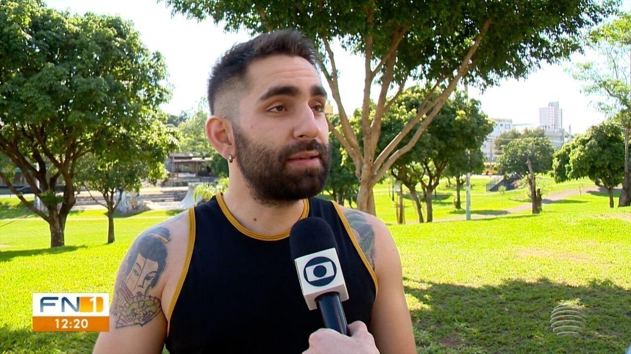 Assista à reportagem sobre o boxeador Renan Ojeda, exibida pelo Fronteira Notícias 1ª Edição