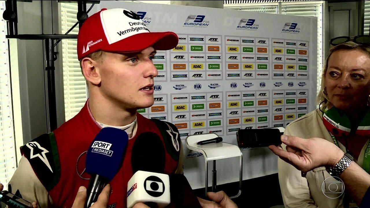 Mick Schumacher segue os passos do pai e conquista a Fórmula 3 europeia