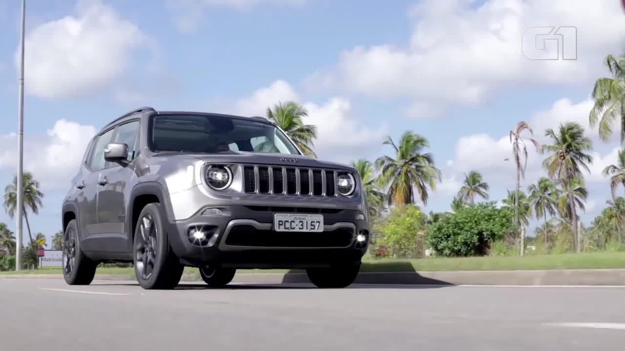 G1 testou Jeep Renegade 2019