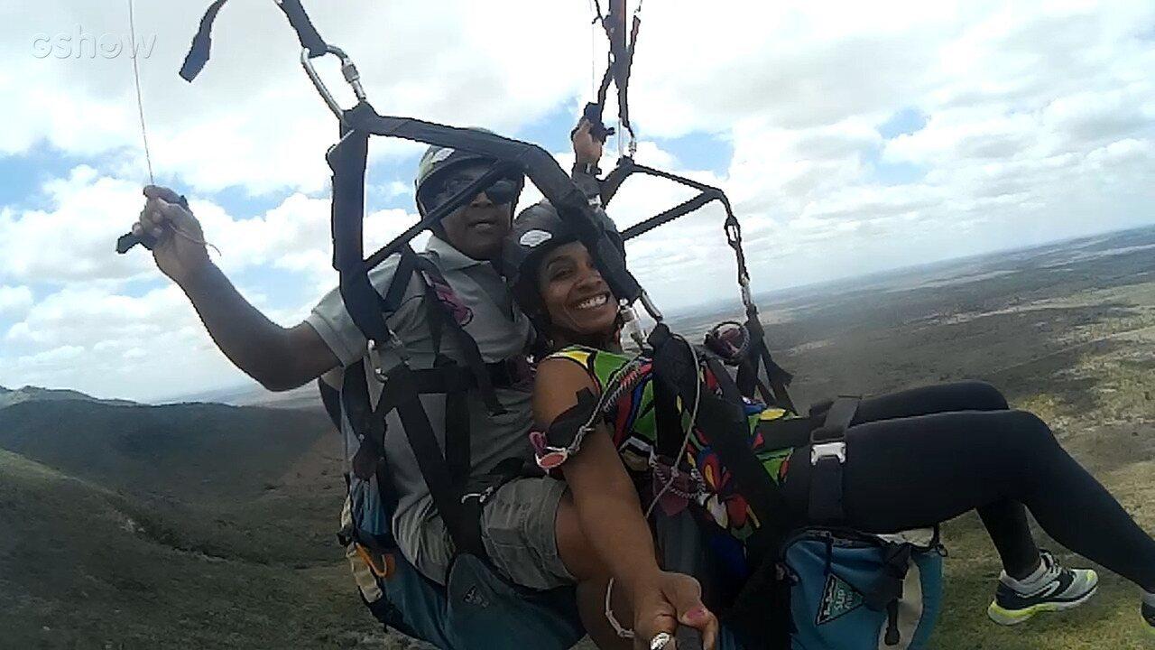 Diretora Mira Silva conta como foi praticar escalada e voo livre
