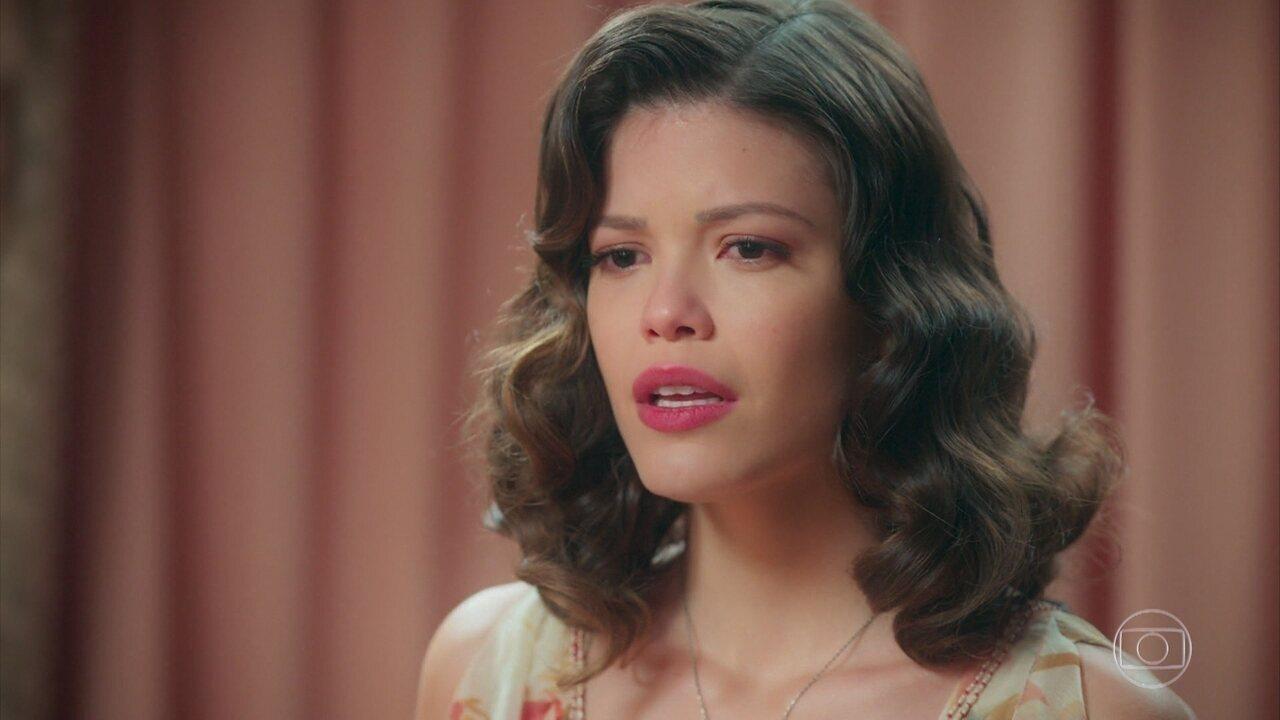 Cris descobre que Gustavo Bruno é o pretendente de Julia