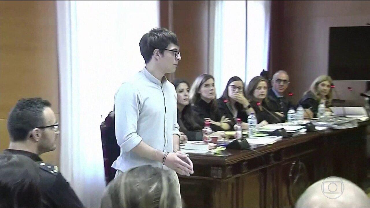 Jornal Nacional: Brasileiro que assassinou a família vai a julgamento na Espanha