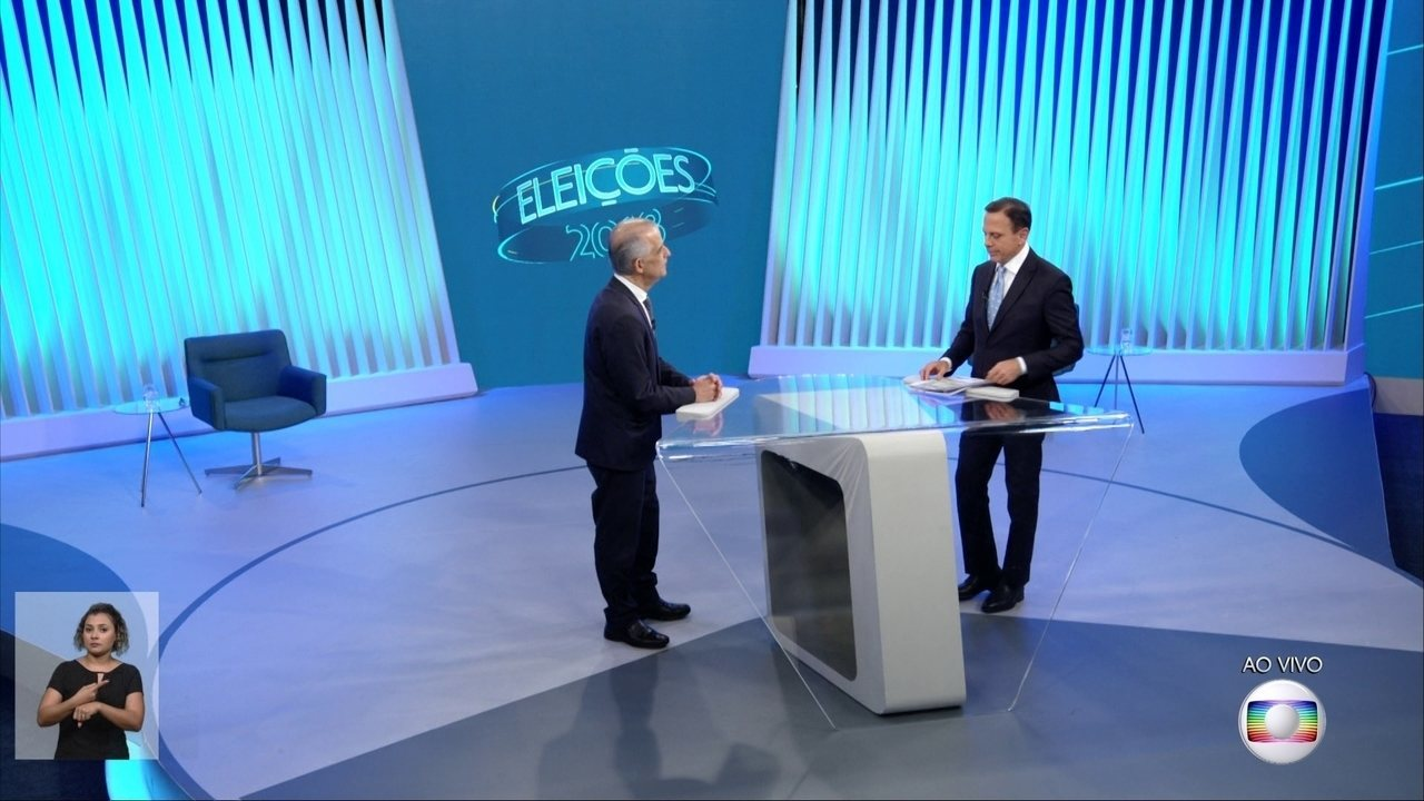 Debate para governador de São Paulo - Bloco 3