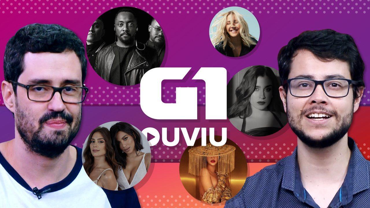 Black Eyed Peas não tem Fergie, mas o G1 Ouviu tem Anitta, Ellie Goulding, Cardi B...