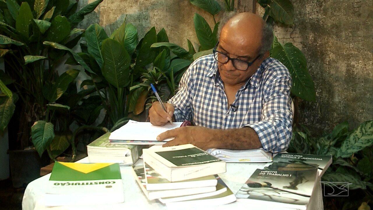 Cleomar Carvalho voltou a estudar para realizar um sonho