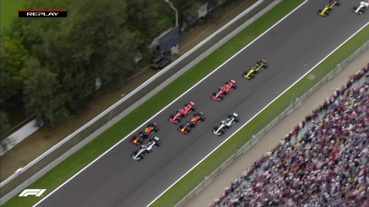 Acompanhe a largada do GP do México por todos os ângulos