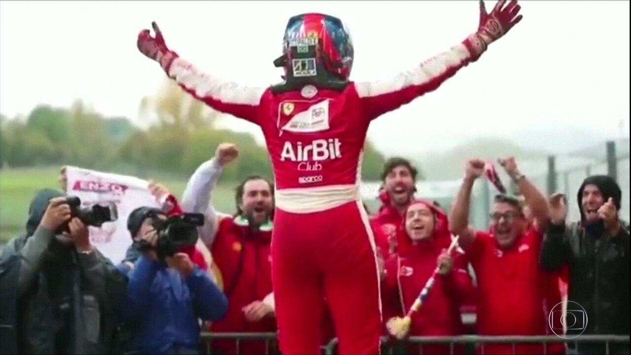 Enzo Fittipaldi conquista o título da F4 italiana