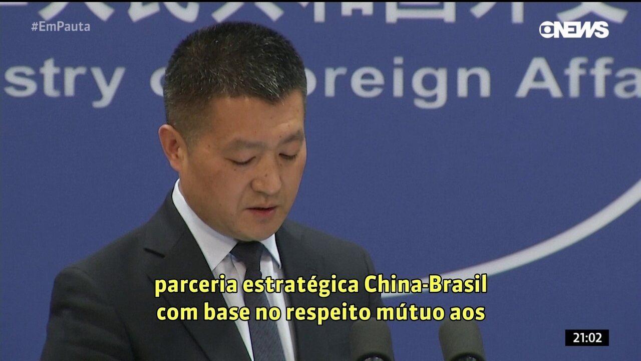 China quer manter parceria estratégica para os dois países