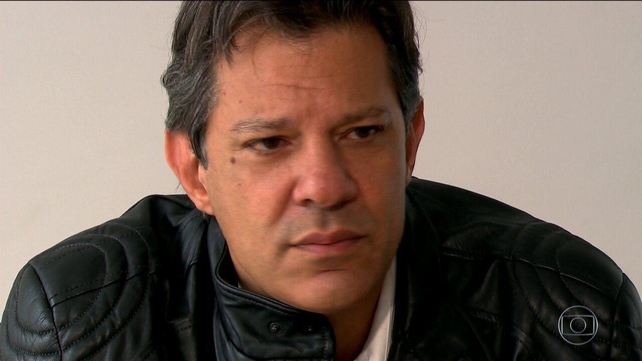 Haddad só parabeniza Bolsonaro no dia seguinte à derrota: 'Desejo-lhe sucesso'