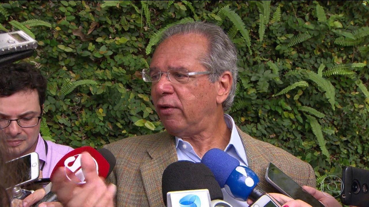 Equipe de Bolsonaro anuncia superministério da Economia sob comando de Paulo Guedes