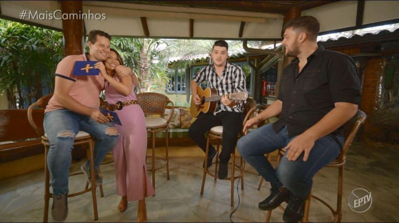 Marcio e Douglas são os convidados musicais deste sábado (03)
