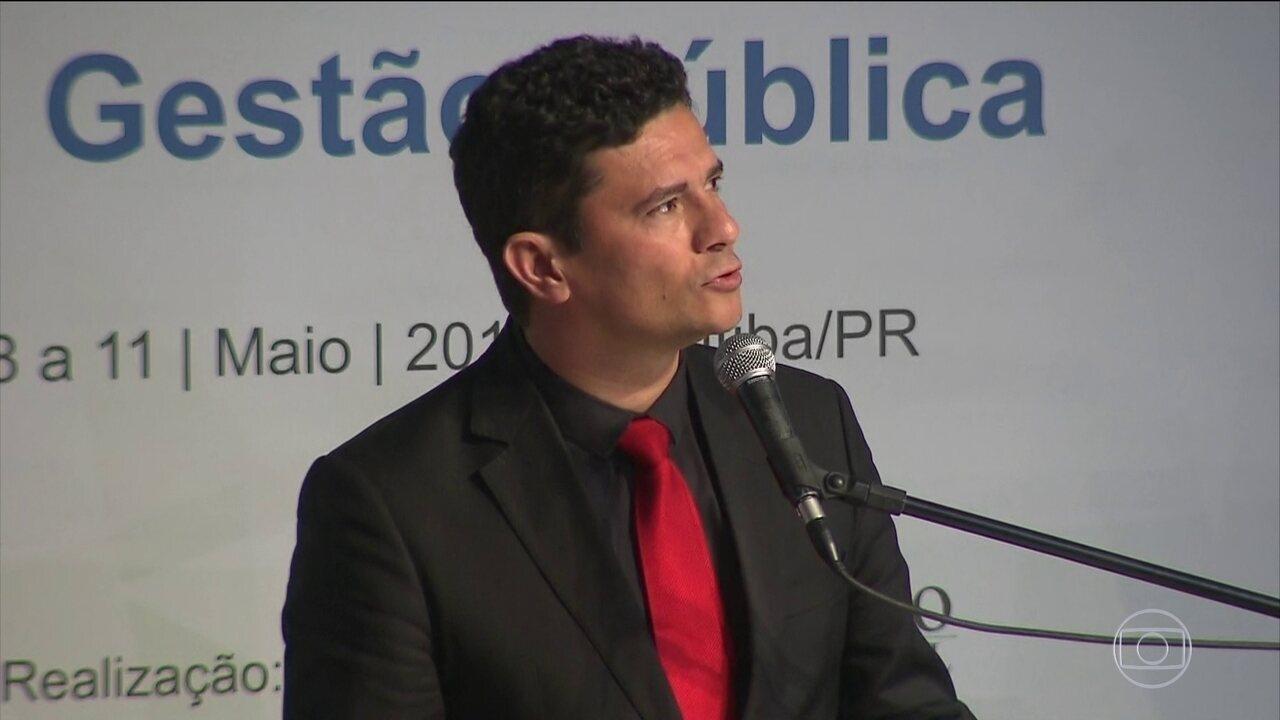 Sérgio Moro ficou conhecido nacionalmente por sua atuação na Lava Jato