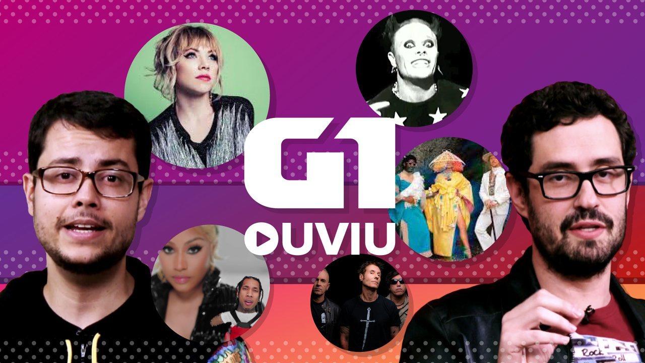 Sia, Carly Rae Jepsen e revival dos anos 90 com Capital Inicial estão no G1 Ouviu