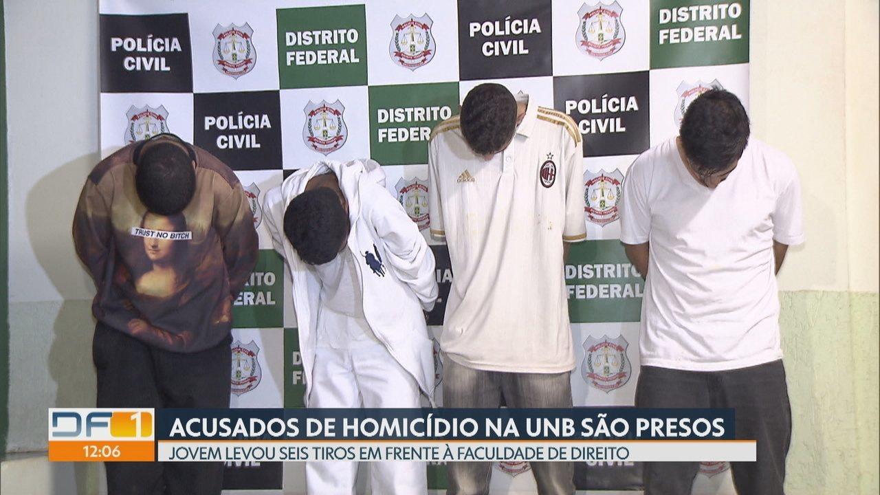 Polícia prende acusados de matar jovem na UnB