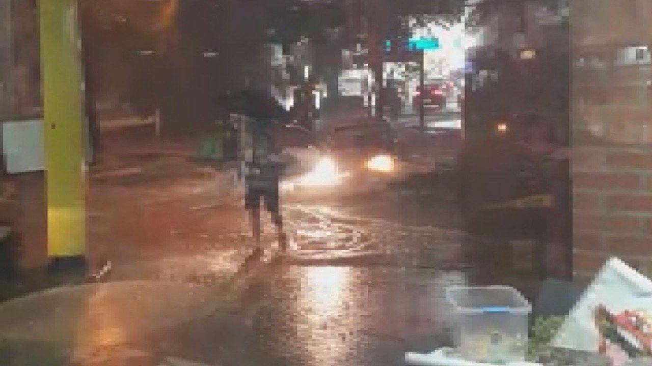 Corrente humana salva motociclista em Campinas