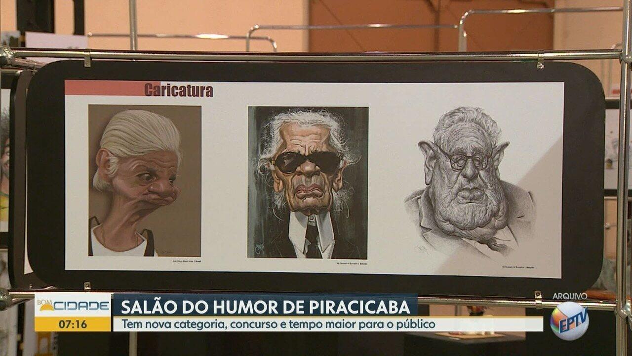 Salão do Humor de Piracicaba terá novidades em 2019
