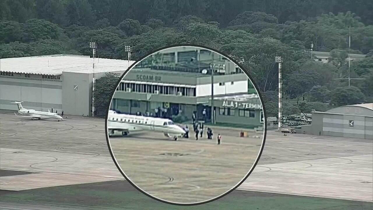 Presidente eleito Jair Bolsonaro chega a Brasília