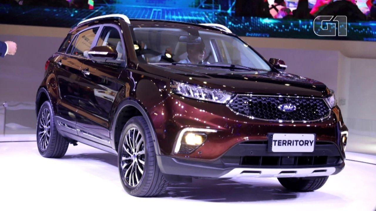 Salão do Automóvel em 2018: Ford apresenta o Territory