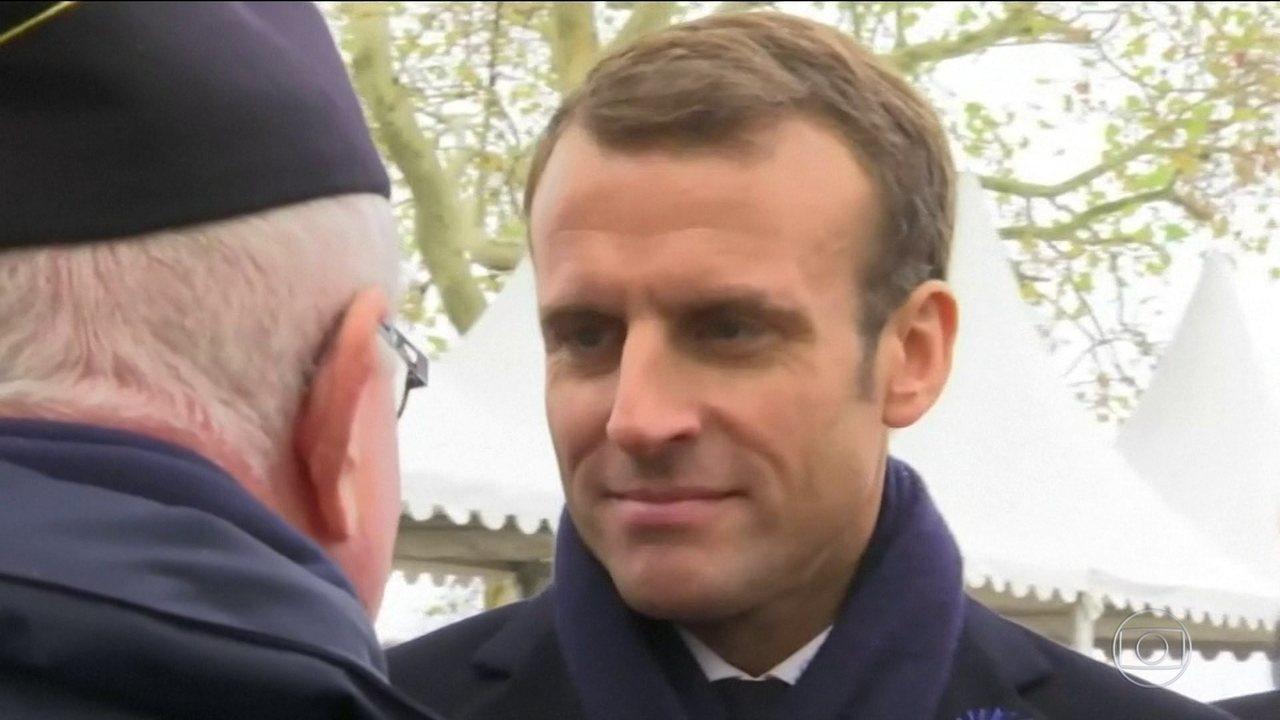 Resultado de imagem para Declaração polêmica do presidente da França provoca onda de críticas
