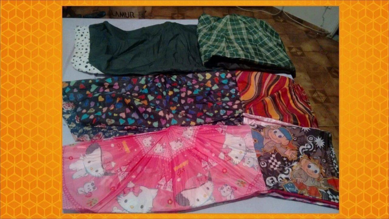 Nós.Doc: artesã fabrica sacos de dormir para moradores de rua