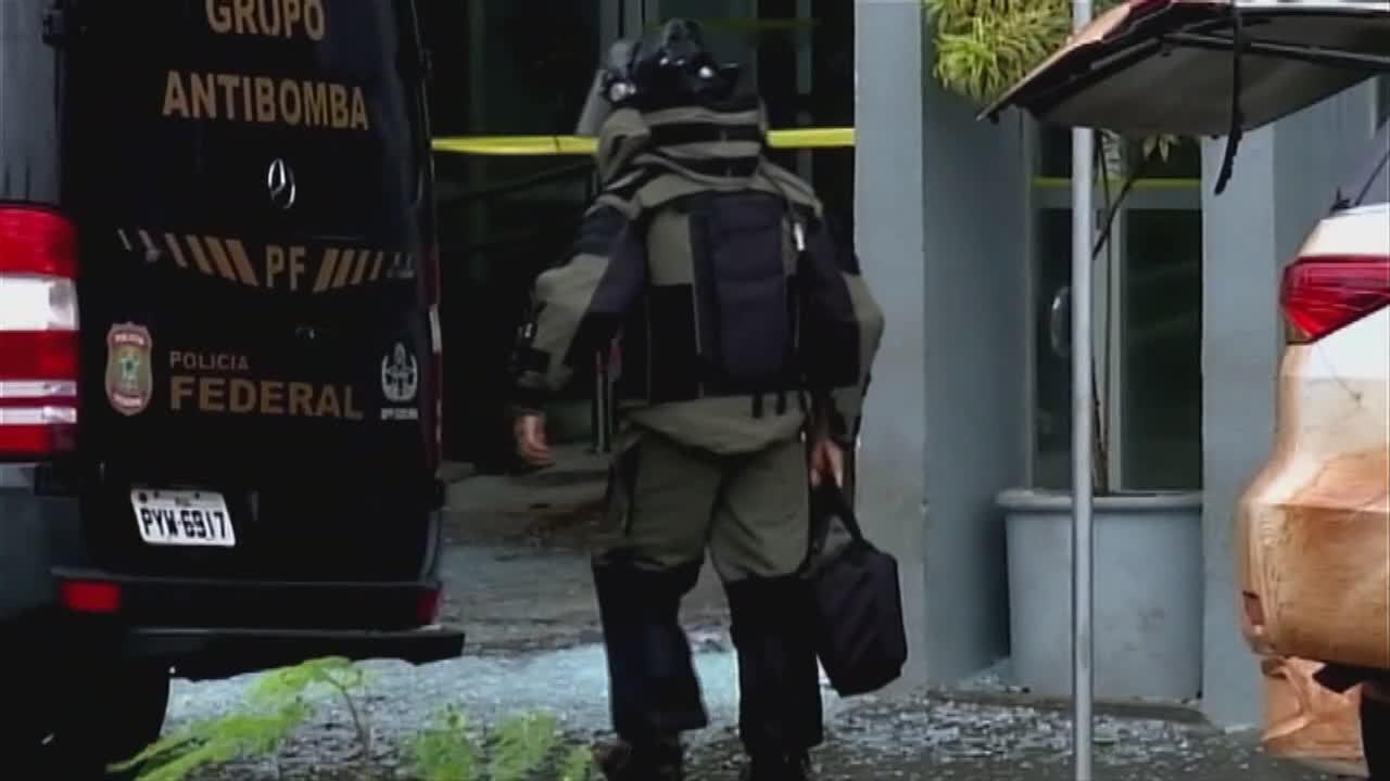 Assaltantes arrombam agências bancárias e matam comerciante durante a fuga em Frutal