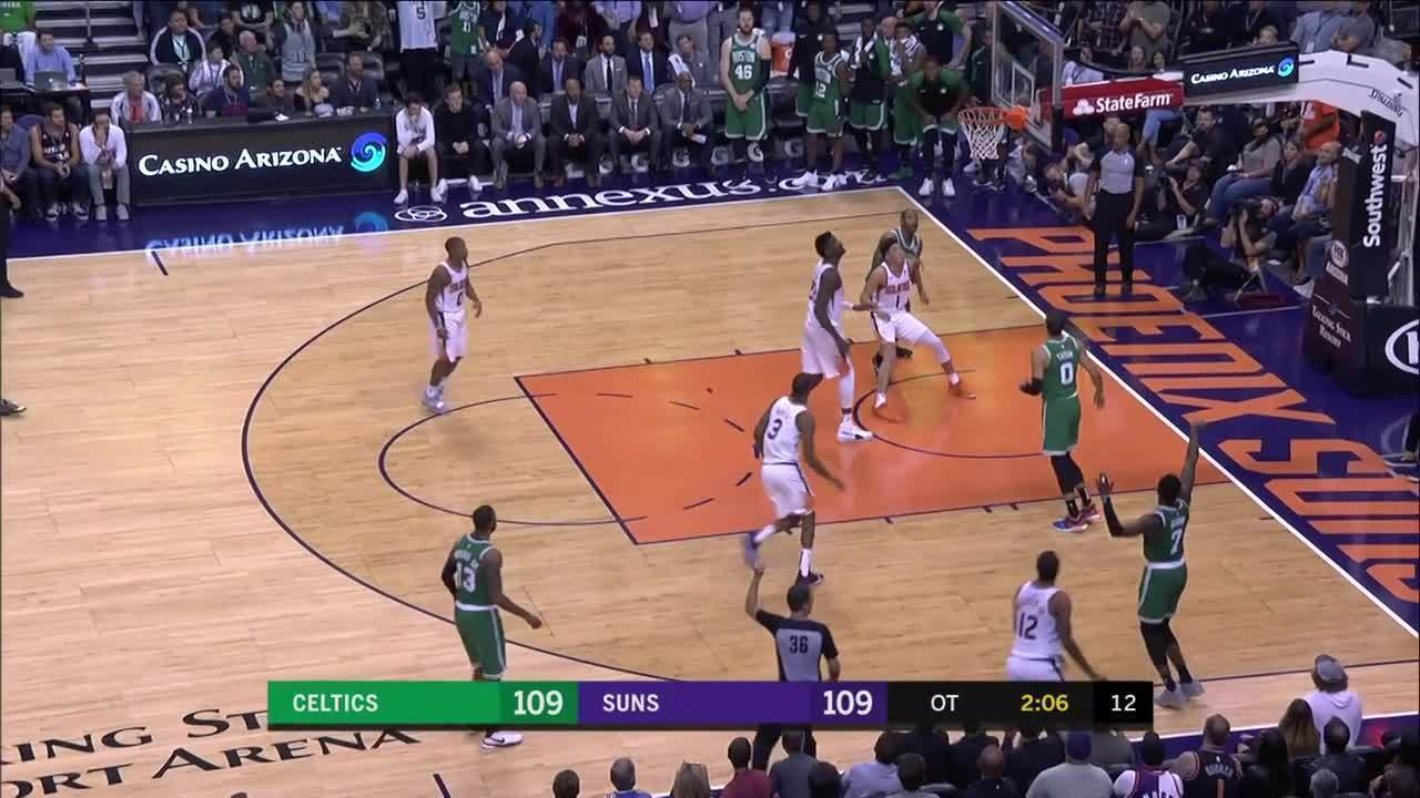 Melhores momentos: Boston Celtics 116 x 109 Phoenix Suns pela NBA